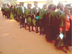 First Ever Matriculation Ceremony