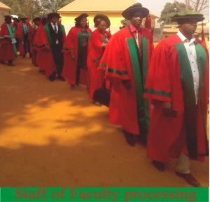 Staff of Faculty processing